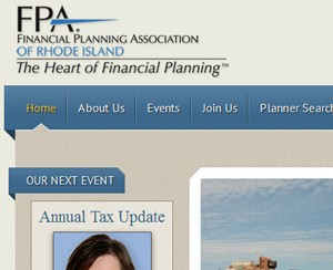 FPA Rhode Island - Website Design
